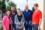 Joan Cronin, Pat and Louise Barry John and Eithne Hurley enjoying the coffee morning in memory of Derry O'Leary in Kilcummin on Friday
