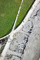 aerial photograph Crissy Field park Marina district San Francisco California