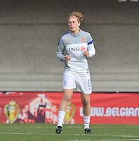 Belgium - The Netherlands : Mirte Roelvink.foto DAVID CATRY / Vrouwenteam.be