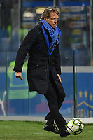 Roberto Mancini of Italy stops the ball during the Nations League League A group 3 football match between Italy and Portugal at stadio Giuseppe Meazza, Milano, November, 17, 2018 <br />  Foto Andrea Staccioli / Insidefoto