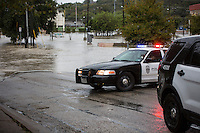 Flooding erupted after severe weather slammed Austin, Texas causing flash floods in the downtown Austin area.
