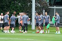 Mannschaft beim Training - Frankfurt 13.07.2021: Trainingslager der Deutschen  Olympia-Nationalmannschaft für Tokio 2021