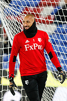 Goalkeeper Heurelho Gomes of Watford ahead of the Premier League match between Crystal Palace and Watford at Selhurst Park, London, England on 12 December 2017. Photo by Carlton Myrie / PRiME Media Images.