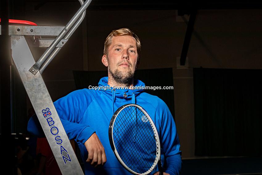 Roosendaal, Netherlands, Oktober 1, 2020, Coach Rick Vleeshouwers (BEL) <br /> Photo: Tennisimages/Henk Koster