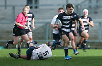 Wednesday 4th March 2020 | WHS vs MCB<br /> <br /> Jack Dillon races clear during the Ulster Schools' Cup Semi-Final between Wallace High School and MCB at Kingspan Stadium, Ravenhill Park, Belfast, Northern Ireland. Photo by John Dickson / DICKSONDIGITAL