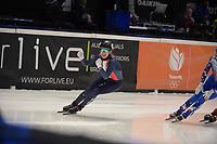 SPEEDSKATING: DORDRECHT: 06-03-2021, ISU World Short Track Speedskating Championships, SF 3000m Relay, (FRA), ©photo Martin de Jong