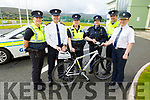 Launching the Garda Open day in John Mitchels GAA Complex on Tuesday and it will be held at the Complex on this Saturday.  <br /> L to r: Gda Mary Gardener, Supt Dan Keane, Gda Cathy Murphy, Sgt Eileen O'Sullivan, Gda Aidan O'Mahoney and Chief Supt Eileen Foster.