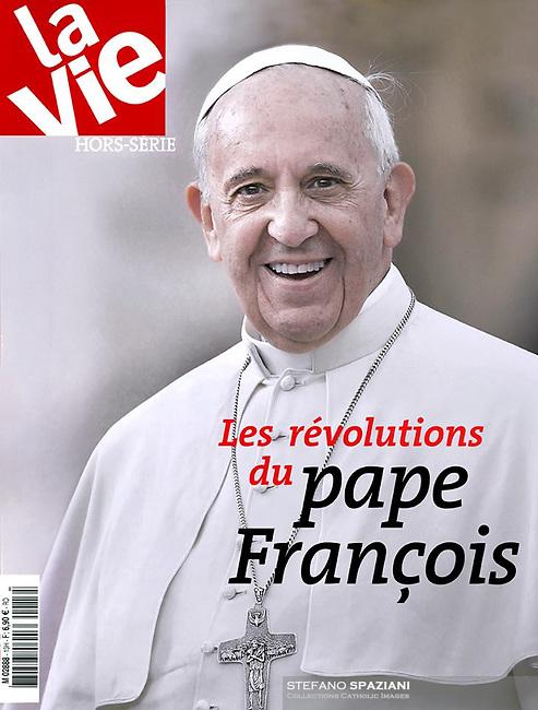 La Vie France Magazine  <br /> Photograph by Stefano Spaziani