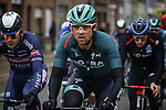 Maximilian Schachmann (GER) Bora-Hansgrohe at the start of the Tour of Flanders 2020 running 244km from Antwerp to Oudenaarde, Belgium. 18th October 2020.  <br /> Picture: Bora-Hansgrohe/Dion Kerckhoffs/PN/BettiniPhoto   Cyclefile<br /> <br /> All photos usage must carry mandatory copyright credit (© Cyclefile   Bora-Hansgrohe/Dion Kerckhoffs/PN/BettiniPhoto)