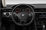 Car pictures of steering wheel view of a 2020 Volkswagen Passat SE 4 Door Sedan Steering Wheel