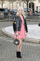 Poppy DELEVINGNE - Show Miu Miu - Paris Fashion Week Womenswear Fall/Winter 2017/2018 - France