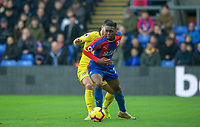 Aaron Wan-Bissaka of Crystal Palace during the Premier League match between Crystal Palace and Chelsea at Selhurst Park, London, England on 30 December 2018. Photo by Andrew Aleks.