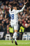 Mariano of Real Madrid celebrates during the La Liga match between Real Madrid and RC Deportivo La Coruna at the Santiago Bernabeu Stadium on 10 December 2016 in Madrid, Spain. Photo by Diego Gonzalez Souto / Power Sport Images