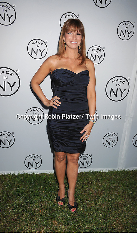 """Jill Zarin attending The """"Made in NY"""" Awards at Gracie Mansion.on June 6, 2011. Matt Damon, John Leguizammo and Lauren Zalaznick and Sidney Lumet were the honorees."""