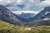 Berge der Lunxhëria