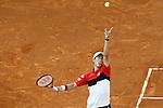 Kei Nishikori, Japan, during Madrid Open Tennis 2015 match.May, 8, 2015.(ALTERPHOTOS/Acero)