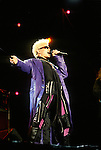 Various live photographs of singer/songwriter, Billy Idol.