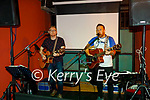 Rouge band live on stage in Turners Bar on Friday, l to r: Andrew Hobbart and David O'Leary