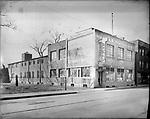 Frederick Stone negative. Reymond's Baking Co., South Main Street. Undated photo.