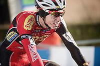Michael Vanthourenhout (BEL/Sunweb-Napoleon Games) in the new all-red/black team kit<br /> <br /> GP Sven Nys 2015