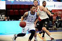 31-03-2021: Basketbal: Donar Groningen v ZZ Feyenoord: Groningen , Donar speler Davonte Lacy met Feyenoord speler Jeroen van der List