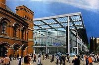 London: St. Pancras Eurostar Terminal for 2007.