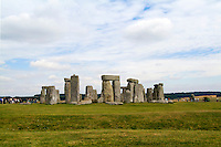 The world famous Stonehenge monument in England Great Britian