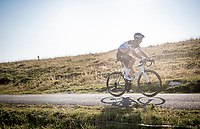 Mikaël Cherel (FRA/AG2R La Mondiale) up the Le Grand Colombier final stretch<br /> <br /> Stage 15 Lyon to Grand Colombier (175km)<br /> <br /> 107th Tour de France 2020 (2.UWT)<br /> (the 'postponed edition' held in september)<br /> <br /> ©kramon