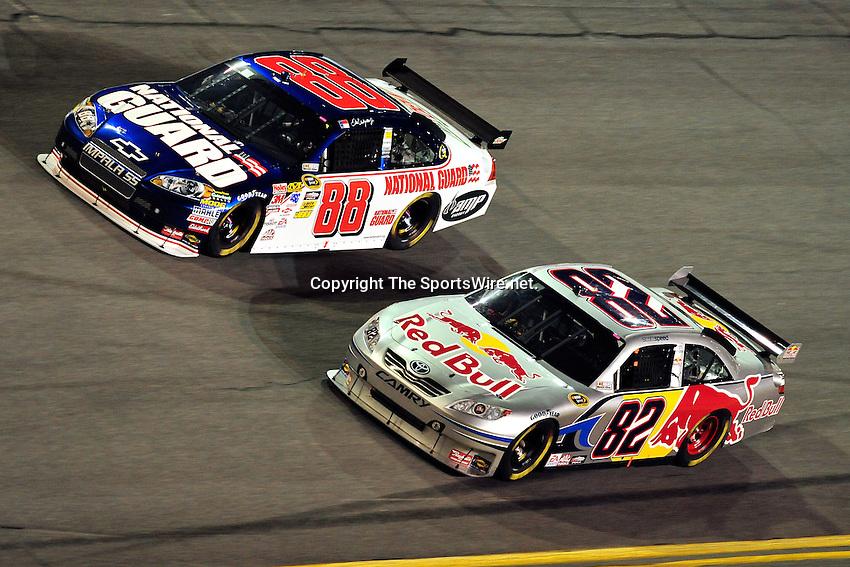 Feb 07, 2009; 8:31:57 PM;  Daytona Beach, FL. USA; NASCAR Sprint Cup Series race at the Daytona International Speedway for the  Budweiser Shootout.  Mandatory Credit: (thesportswire.net)