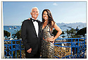 Jean-Paul Belmondo et Barbara<br /> Cannes