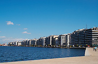The waterfront. Thessaloniki, Macedonia, Greece