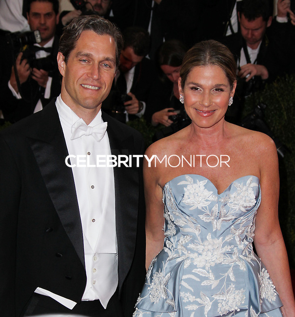 """NEW YORK CITY, NY, USA - MAY 05: Eric Zinterhofer, Aerin Lauder at the """"Charles James: Beyond Fashion"""" Costume Institute Gala held at the Metropolitan Museum of Art on May 5, 2014 in New York City, New York, United States. (Photo by Xavier Collin/Celebrity Monitor)"""