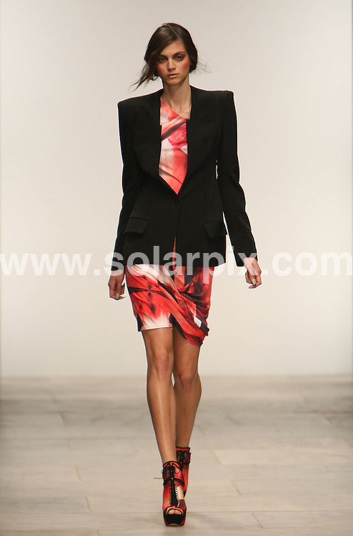 **ALL ROUND PICTURES FROM SOLARPIX.COM** **WORLDWIDE SYNDICATION RIGHTS** .Jean-Pierre Breganza runway 2012 during London Fashion Week at Somerset House in London on 16 September, 2011..This pic:    Jean-Pierre Breganza Runway .JOB REF:     13958     MLW     DATE: 16.09.11 .**MUST CREDIT SOLARPIX.COM OR DOUBLE FEE WILL BE CHARGED** **MUST AGREE FEE BEFORE ONLINE USAGE** **CALL US ON: +34 952 811 768 or LOW RATE FROM UK 0844 617 7637**.