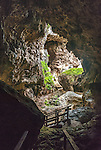 Avaiki cave on the island of Niue