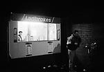 Half time drinks outside the Ladbrokes kiosk, Boro 2 Watford 0, 7th March 1995.