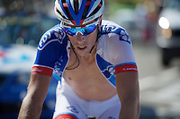 Last man to finish: Sébastien Chavanel (FRA/FDJ)<br /> <br /> stage 10: Tarbes - La Pierre-Saint-Martin (167km)<br /> 2015 Tour de France
