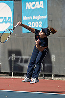 SAN ANTONIO, TX - FEBRUARY 1, 2008: The Middle Tennessee State University Blue Raiders vs. The University of Texas at San Antonio Roadrunners Women's Tennis at the UTSA Tennis Center. (Photo by Jeff Huehn)