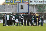 22.11.2020, Dietmar-Scholze-Stadion an der Lohmuehle, Luebeck, GER, 3. Liga, VfB Luebeck vs FC Bayern Muenchen II <br /> <br /> im Bild / picture shows <br /> Endstand 3:0, die Mannschaft des VfB Lübeck/Luebeck im Schlusskreis<br /> <br /> DFB REGULATIONS PROHIBIT ANY USE OF PHOTOGRAPHS AS IMAGE SEQUENCES AND/OR QUASI-VIDEO.<br /> <br /> Foto © nordphoto / Tauchnitz