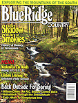 Blue Ridge Country, Magazine Cover Image, 2002, Cherokee National Forest, TN