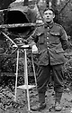 """11/06/16<br /> <br /> Collect photo of Charles Shaw.<br /> <br /> One hundred years have passed since Private Charles Gordon Shaw was fatally wounded in the Battle of the Somme, but today is the first day his family have been able to grieve at his graveside.<br /> <br /> Full Story: https://fstoppressblog.wordpress.com/private_charles_shaw/<br /> <br /> <br /> That's because his grave was """"lost"""" during a changeover in church vicars and when the Commonwealth War Graves Commission tried to place a headstone on his plot in 1926, the new vicar was unable to tell them where the body was buried.<br /> <br /> But today, thanks to detective work by his  niece, 83-year-old Dorris Innes from Spondon, together with an amateur historian who located the 'lost' grave, Private Shaw's family were finally able to pay their respects to the war hero, with a commemorative service at his grave, exactly 100 years to the day since he was buried at Christ Church in Stonegravels, Chesterfield.<br /> <br /> All Rights Reserved, F Stop Press Ltd."""