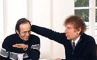 GOLDMAN JEAN-JACQUES et Alain  SOUCHON<br /> 2002<br /> ©  FAUSTINE/.DALLE