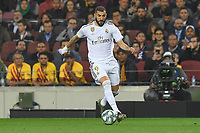Karim Benzema<br /> <br /> <br /> 18/12/2019 <br /> Barcelona - Real Madrid<br /> Calcio La Liga 2019/2020 <br /> Photo Paco Largo Panoramic/insidefoto <br /> ITALY ONLY