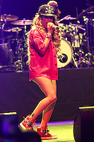 LOS ANGELES, CA, USA - AUGUST 22: Singer Keyshia Cole performs at The Wiltern on August 22, 2014 in Los Angeles, California, United States. (Photo by Xavier Collin/Celebrity Monitor)