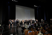 SEptember 3,, 2012 - Montreal (Qc) CANADA -  <br />  Montreal World Film Festival closing ceremonies -  - all winners presents poste onstage.