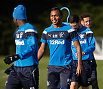 8.3.2018: Rangers training:<br /> Alfredo Morelos