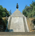 France, Corsica, Ajaccio: Napoleon's Ramp | Frankreich, Korsika, Ajaccio: Napoleon-Statue