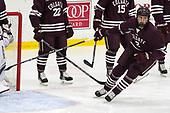 Paul Meyer (Colgate - 2) - The visiting Colgate University Raiders shut out the Harvard University Crimson for a 2-0 win on Saturday, January 27, 2018, at Bright-Landry Hockey Center in Boston, Massachusetts.