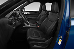 Front seat view of 2020 Ford Explorer ST 5 Door SUV Front Seat  car photos