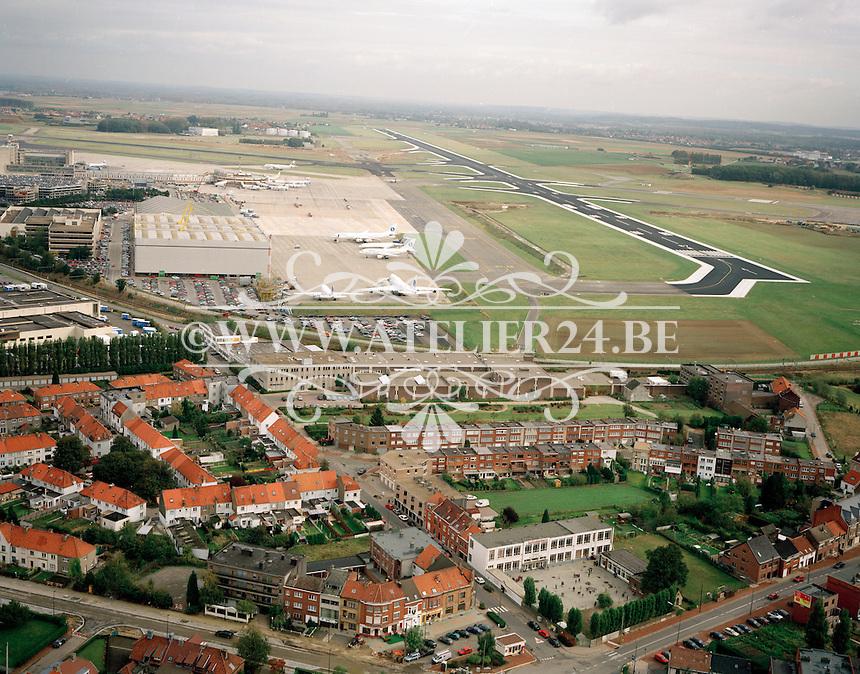 Oktober 1997. Luchthaven Zaventem.