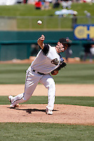 Jeff Gray -  Sacramento RiverCats  playing against the Round Rock Express at Raley Field, Sacramento, CA - 05/19/2009.Photo by:  Bill Mitchell/Four Seam Images